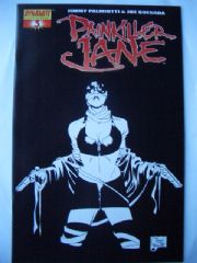 Painkiller Jane #3 Quesada Retail Incentive Sketch Variant